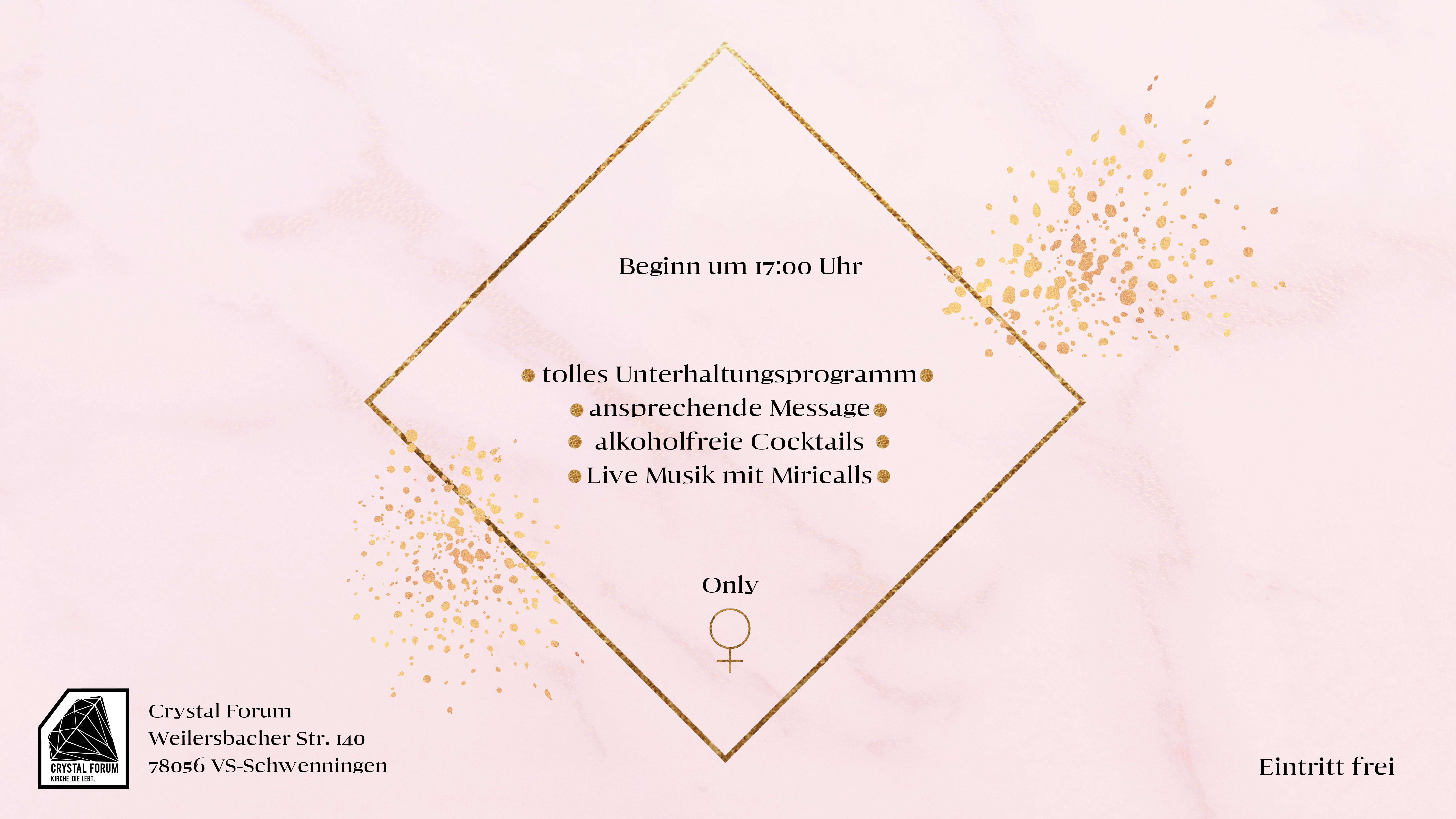 Frauentag 2019 AUGE Beamer